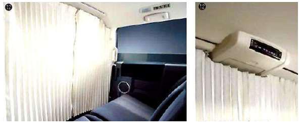 『デリカD:5』 純正 CV4W パーティションカーテン パーツ 三菱純正部品 DELICA オプション アクセサリー 用品