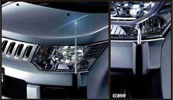 『デリカD:5』 純正 CV4W コーナーポール パーツ 三菱純正部品 DELICA オプション アクセサリー 用品