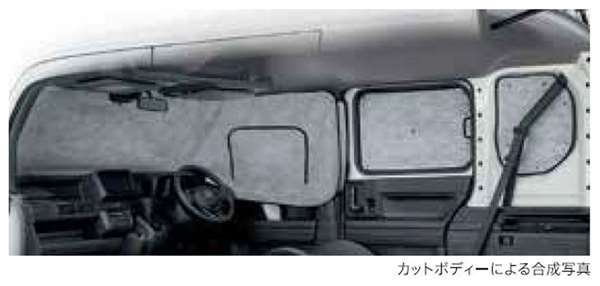 『N-VAN』 純正 JJ1 JJ2 プライバシーシェード パーツ ホンダ純正部品 オプション アクセサリー 用品