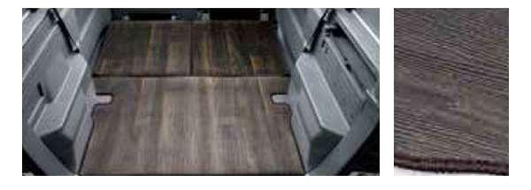 『N-VAN』 純正 JJ1 JJ2 ラゲッジマット フローリングタイプ(ダークブラウン(木目調)(リアシートバック+ラゲッジフロア用) パーツ ホンダ純正部品 ラゲージマット 荷室マット 滑り止め オプション アクセサリー 用品