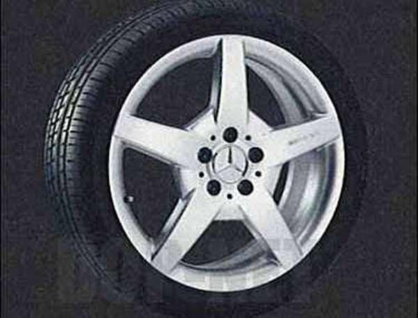 slk053 SLKクラス AMGスタイルのフロント用の7.5J×18 ET37 225 / 40 R18 ベンツ純正部品 SLKクラス パーツ r171 パーツ 純正 ベンツ ベンツ純正 ベンツ 部品 オプション 送料無料