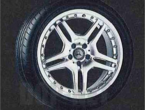 SLKクラス AMGスタイルマルチピースのフロント用の7.5J×18 ET37 225 / 40 R18 ベンツ純正部品 SLKクラス パーツ r171 パーツ 純正 ベンツ ベンツ純正 ベンツ 部品 オプション 送料無料