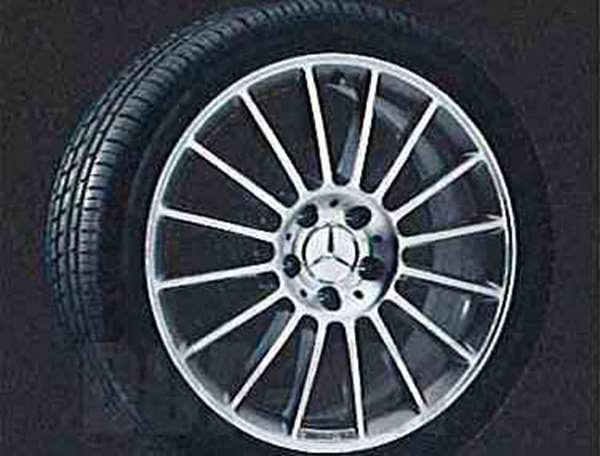 SLKクラス AMGスタイルのフロント用の7.5J×18 ET37 225 / 40 R18 ベンツ純正部品 SLKクラス パーツ r171 パーツ 純正 ベンツ ベンツ純正 ベンツ 部品 オプション 送料無料