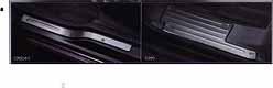 『ルークス』 純正 ML21S キッキングプレート(1台分) KAUP0 パーツ 日産純正部品 スカッフプレート ステップ 保護 ROOX オプション アクセサリー 用品
