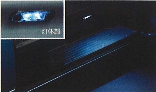 『キャラバン』 純正 VPE25 エントランスイルミネーション(スライドドア用) ●左右セット パーツ 日産純正部品 CARAVAN オプション アクセサリー 用品