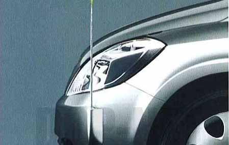 『プレサージュ』 純正 TU31 TNU31 電動格納式ネオンコントロール(フルオートタイプ) 無塗装仕様 パーツ 日産純正部品 コーナーポール フェンダーランプ フェンダーライト PRESAGE オプション アクセサリー 用品