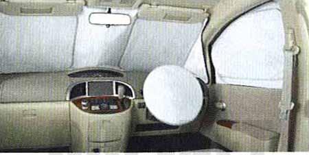 『プレサージュ』 純正 TU31 TNU31 マルチサンシェイド(フロントウインドゥ・フロントドアガラス用) パーツ 日産純正部品 PRESAGE オプション アクセサリー 用品