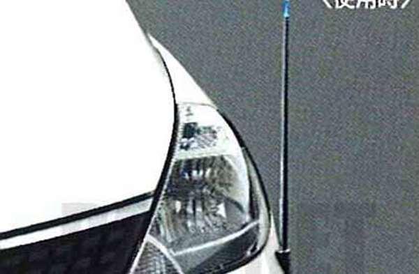 『ティーダ』 純正 HR15 MR18 電動格納式ネオンコントロール(フルオートタイプ) パーツ 日産純正部品 コーナーポール フェンダーランプ フェンダーライト TIIDA オプション アクセサリー 用品