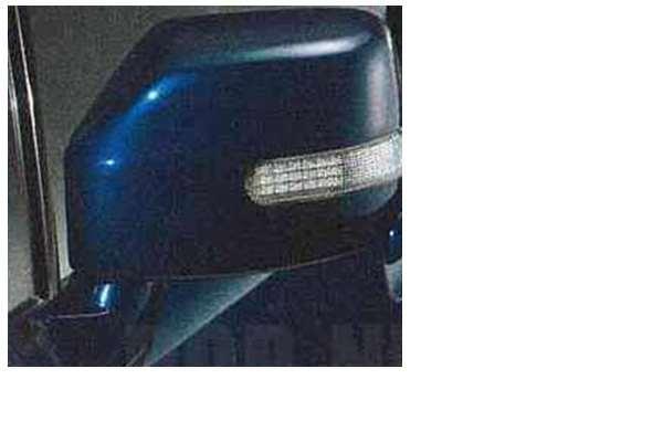 『シボレーMW』 純正 ME34S ドアミラーカバー(ターンランプ付) 左右セット パーツ スズキ純正部品 サイドミラーカバー カスタム Chevroletmw オプション アクセサリー 用品