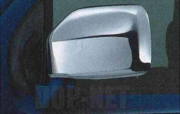 『シボレーMW』 純正 ME34S メッキ ドアミラーカバー 左右セット パーツ スズキ純正部品 メッキ サイドミラーカバー カスタム Chevroletmw オプション アクセサリー 用品