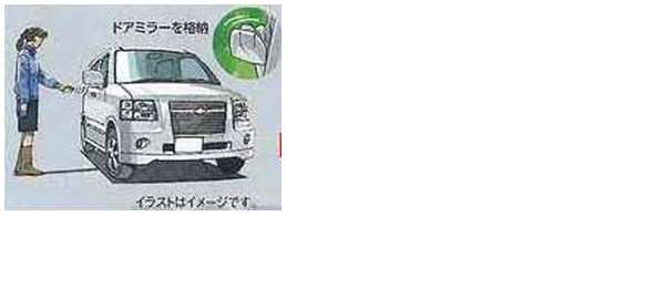 『シボレーMW』 純正 ME34S リモート格納ミラー&オートドアロックシステム パーツ スズキ純正部品 Chevroletmw オプション アクセサリー 用品