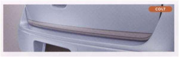 『コルト』 純正 Z21A Z21W Z23W Z27AG テールゲートプロテクター(シルバー) パーツ 三菱純正部品 荷台モール アオリ COLT オプション アクセサリー 用品