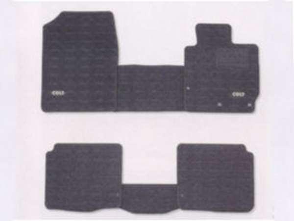 『コルト』 純正 Z21A Z21W Z23W Z27AG フロアマット(クール) M・T、2WD ※ブラック内装 パーツ 三菱純正部品 フロアカーペット カーマット カーペットマット COLT オプション アクセサリー 用品