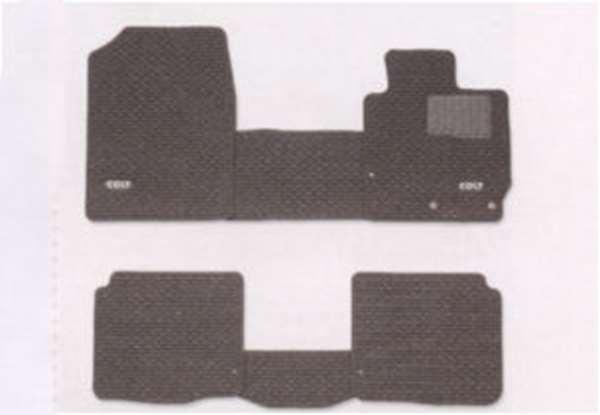 『コルト』 純正 Z21A Z21W Z23W Z27AG フロアマット(スタンダード) CVT、2WD パーツ 三菱純正部品 フロアカーペット カーマット カーペットマット COLT オプション アクセサリー 用品