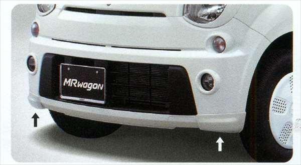 『MRワゴン』 純正 MF33S フロントスパッツ パーツ スズキ純正部品 フロントスポイラー カスタム エアロ mrwagon オプション アクセサリー 用品