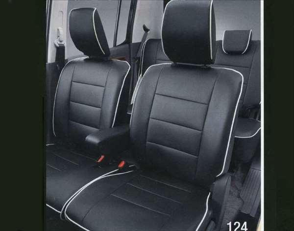 『MRワゴン』 純正 MF33S 革調シートカバー パーツ スズキ純正部品 座席カバー 汚れ シート保護 mrwagon オプション アクセサリー 用品