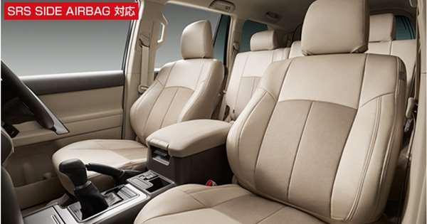 『ランドクルーザー プラド』 純正 LAND CRUISER PRADO 革調シートカバー(5人乗り用) パーツ トヨタ純正部品 座席カバー 汚れ シート保護 オプション アクセサリー 用品