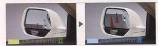 『CR-V』 純正 RE3 RE4 リバース連動ドアミラー ※ミラー本体ではありません パーツ ホンダ純正部品 オプション アクセサリー 用品