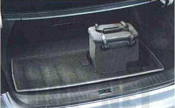 『ブルーバード シルフィー』 純正 G11 KG11 NG11 ラゲッジシステム「トレイセット」(ラゲッジトレイ+パーティション(2個)+防水バッグ) パーツ 日産純正部品 荷室 トレー ラゲージ SYLPHY オプション アクセサリー 用品