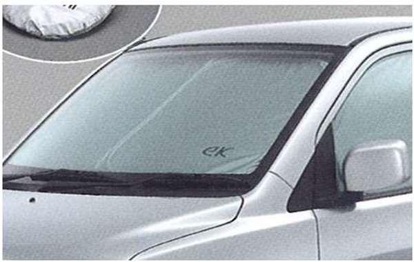 『ekワゴン』 純正 H82W ワンタッチサンシェード パーツ 三菱純正部品 サンシェイド 日除け 目隠し オプション アクセサリー 用品
