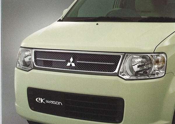 『ekワゴン』 純正 H82W メッシュグリル パーツ 三菱純正部品 オプション アクセサリー 用品