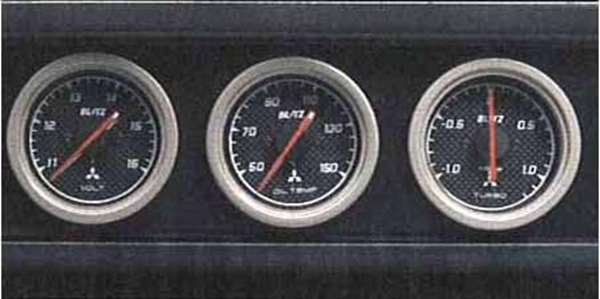 『アイ』 純正 HA1 3連スポーツメーターキット パーツ 三菱純正部品 オプション アクセサリー 用品