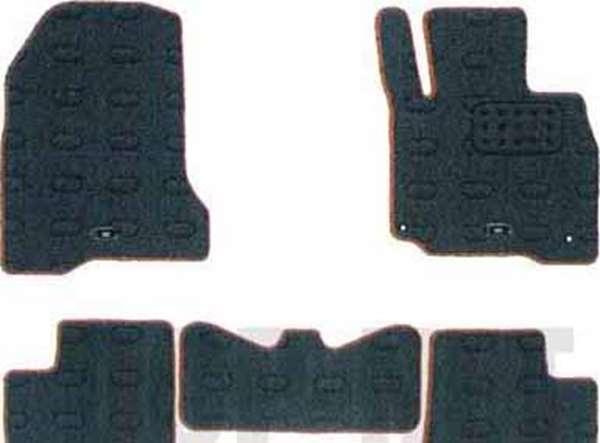 『アイ』 純正 HA1 フロアマット(デラックス) パーツ 三菱純正部品 フロアカーペット カーマット カーペットマット オプション アクセサリー 用品
