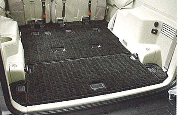 『パジェロ』 純正 V97 V93 ラゲッジマット(デラックス) パーツ 三菱純正部品 ラゲージマット 荷室マット 滑り止め PAJERO オプション アクセサリー 用品