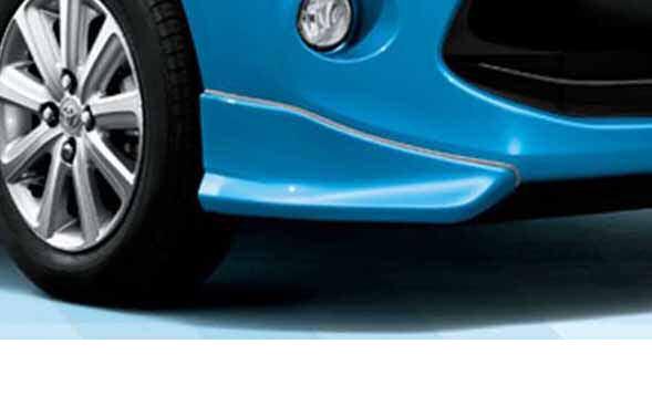 『パッソ』 純正 KGC30 フロントスポイラー パーツ トヨタ純正部品 passo オプション アクセサリー 用品