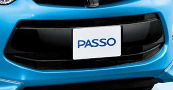 『パッソ』 純正 KGC30 フロントガーニッシュ パーツ トヨタ純正部品 passo オプション アクセサリー 用品