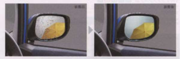 『フィット』 純正 GE6 GE7 GE8 GE9 GP1 アクアクリーンミラー パーツ ホンダ純正部品 FIT オプション アクセサリー 用品