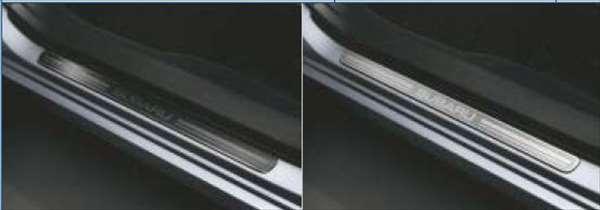 『インプレッサ』 純正 GP2 サイドシルプレート シルバー パーツ スバル純正部品 ステップ 保護 プレート impreza オプション アクセサリー 用品