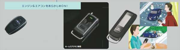 『インプレッサ』 純正 GP2 リモコンエンジンスターター パーツ スバル純正部品 impreza オプション アクセサリー 用品