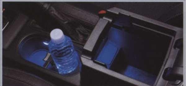 『フォレスター』 純正 SJ5 SJG ドリンクホルダー&コンソールイルミネーション ◎ パーツ スバル純正部品 照明 明かり ライト Forester オプション アクセサリー 用品