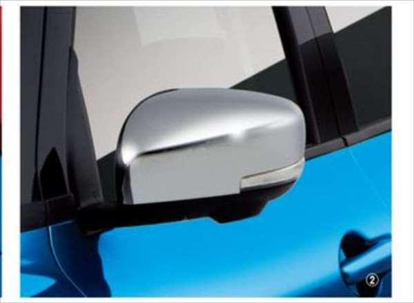 『スイフト』 純正 ZC53S ZD53S ドアミラーカバー クロームメッキ パーツ スズキ純正部品 サイドミラーカバー カスタム オプション アクセサリー 用品
