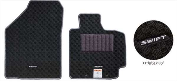 『スイフト』 純正 ZC53S ZD53S フロアマット(ジュータン)(スタウト) パーツ スズキ純正部品 フロアカーペット カーマット カーペットマット オプション アクセサリー 用品