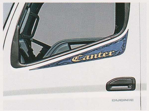 cant026 キャンター パーツ ドアサイドストライプ メタル調 三菱ふそう純正部品 FBA60 FBA30 オプション アクセサリー 用品 純正