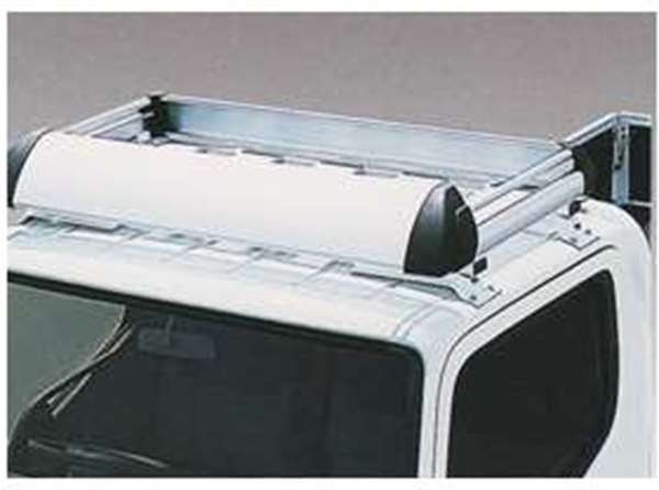 Fuso Mitsubishi Canter wide cab-high roof aluminum roof deck genuine parts