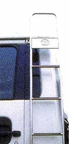 コンドル パーツ 固定式ステンレスラダー丸パイプ ベッドレス 日産ディーゼル純正部品 PK~ オプション アクセサリー 用品 純正