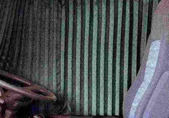 コンドル パーツ カーテン<消臭> リヤ 日産ディーゼル純正部品 PK~ オプション アクセサリー 用品 純正 カーテン