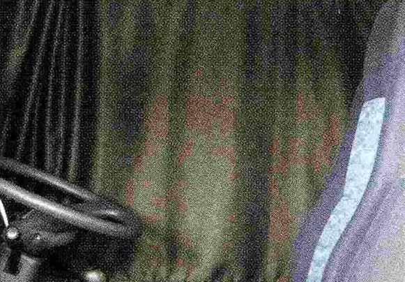 コンドル パーツ カーテン<遮光> リヤ標準 日産ディーゼル純正部品 PK~ オプション アクセサリー 用品 純正 カーテン