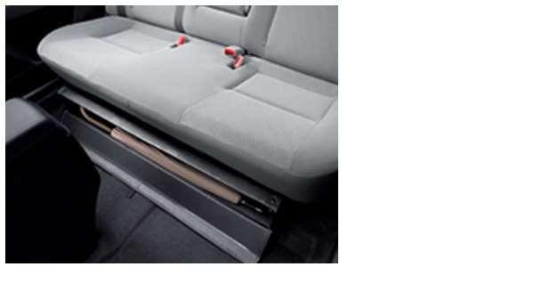 『カローラアクシオ』 純正 NKE165 NRE161 NZE161 リヤシートアンダーボックス パーツ トヨタ純正部品 axio オプション アクセサリー 用品