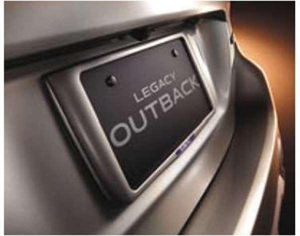 『レガシィ』 純正 BN9 BS9 カラードナンバープレートベースセット(アウトバック) パーツ スバル純正部品 ナンバーフレーム ナンバーリム ナンバープレートリム オプション アクセサリー 用品