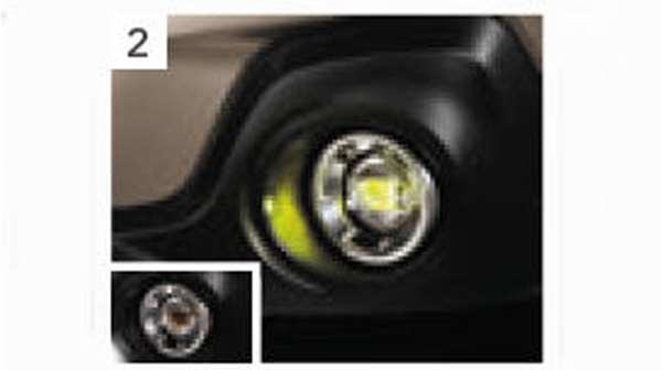 『レガシィ』 純正 BN9 BS9 LEDフォグランプ(イエロー) パーツ スバル純正部品 フォグライト 補助灯 霧灯 オプション アクセサリー 用品