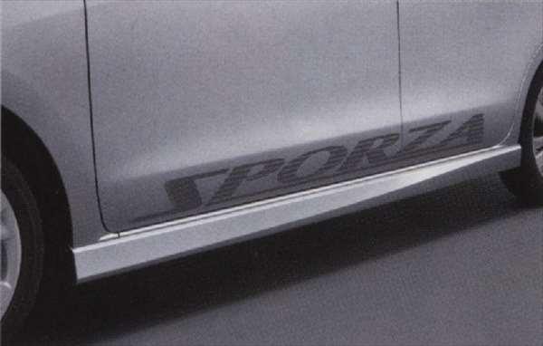 『ムーヴ』 純正 LA100S LA110S サイドデカール(SPORZ) パーツ ダイハツ純正部品 ステッカー シール ワンポイント move オプション アクセサリー 用品