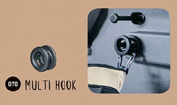 タフト 純正 LA900 LA910 メーカー公式ショップ マルチフック 1個 パーツ ラゲッジ 用品 固定 ダイハツ純正部品 ラゲージ アクセサリー セールSALE%OFF オプション