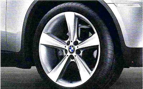 X6 パーツ スタースポーク・スタイリング128 ホイール単体 11.5J×21(リヤ) BMW純正部品 FG35 FG44 FH44 オプション アクセサリー 用品 純正 送料無料