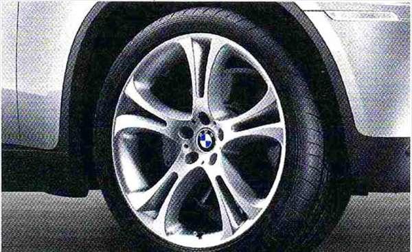 X6 パーツ ダブルスポーク・スタイリング275 コンプリートセット 285/35R21 フロント 325/30R21 リヤ BMW純正部品 FG35 FG44 FH44 オプション アクセサリー 用品 純正 送料無料