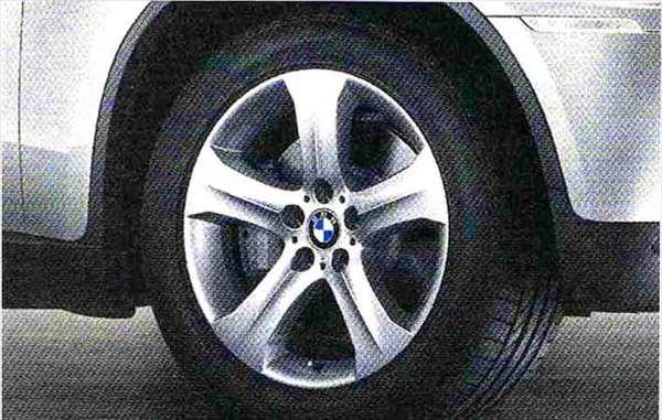 X6 パーツ スタースポーク・スタイリング258 ホイール単体 9J×19(フロント) BMW純正部品 FG35 FG44 FH44 オプション アクセサリー 用品 純正 送料無料