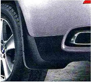 X6 パーツ マッド・フラップ・セット フロントのみ BMW純正部品 FG35 FG44 FH44 オプション アクセサリー 用品 純正